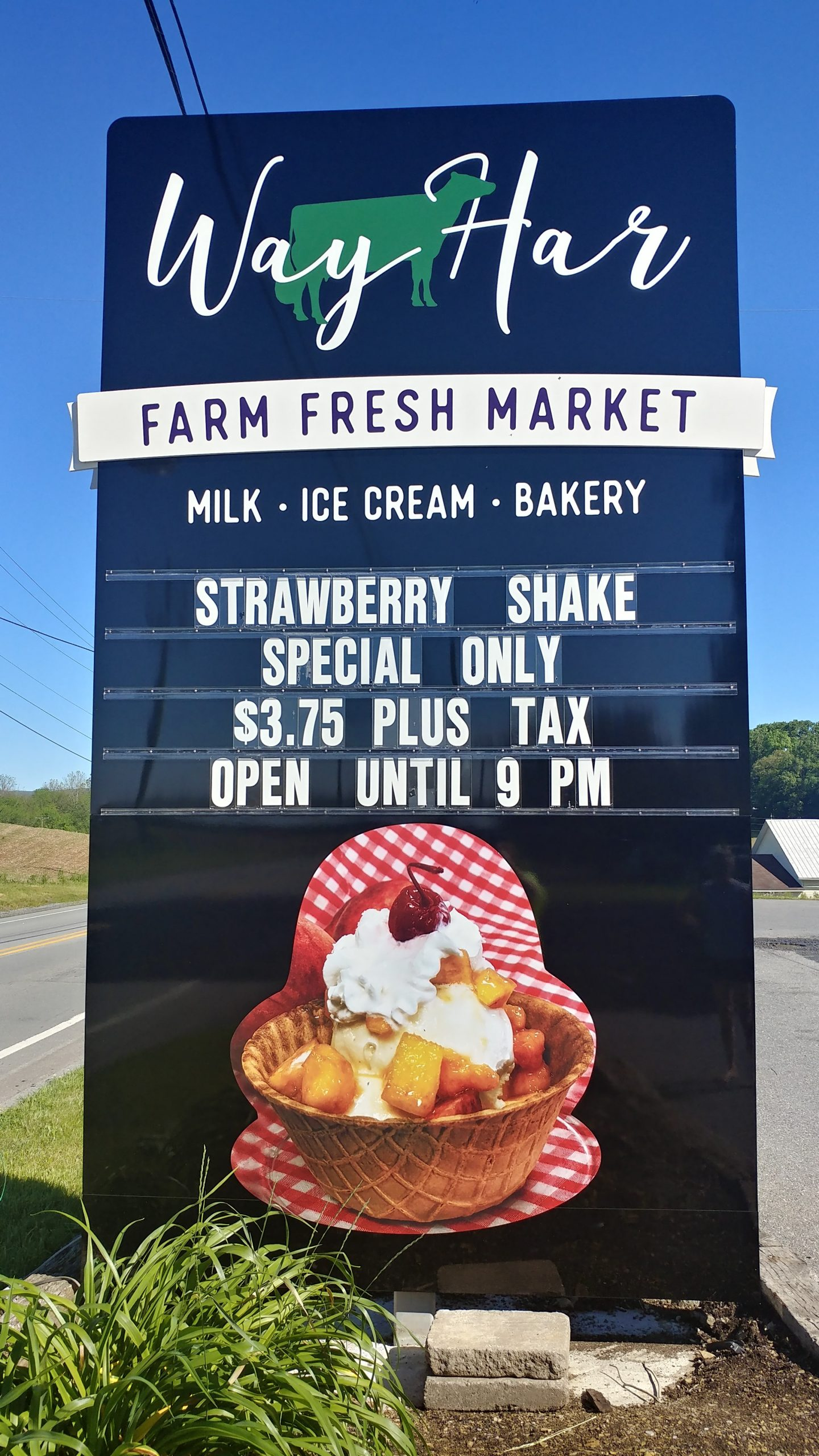 Way Har Farm Fresh Market - Milk, Ice Cream and Bakery